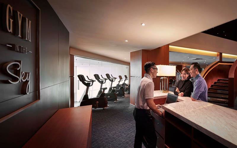 Fitness & Wellness - Gym In The Sky (Staircase)