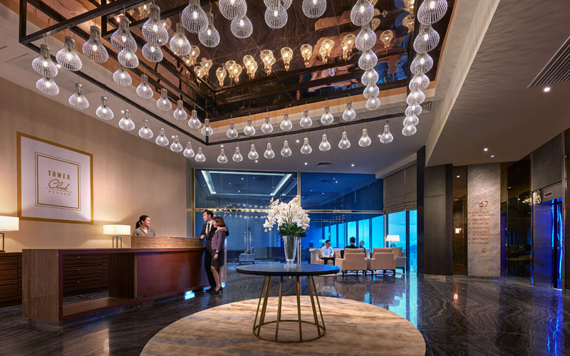 Tower Club Penang - Main Entrance