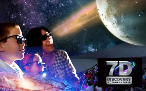 7D Planetarium Dome