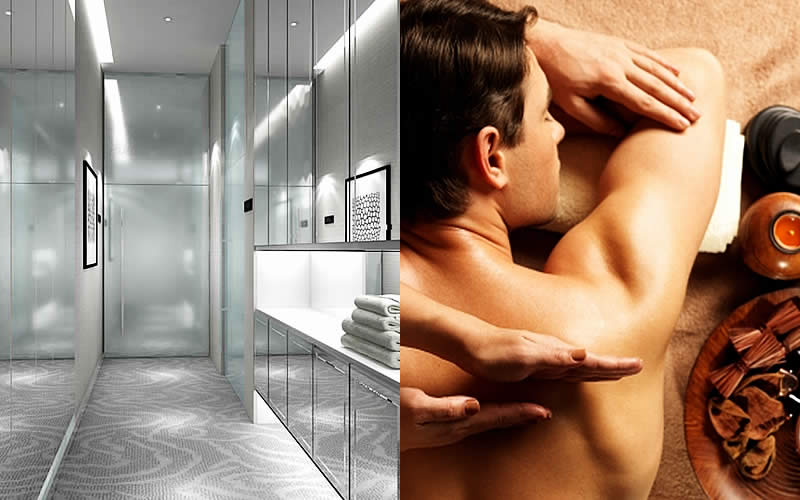 Fitness & Wellness - Tower Spa - Men Treatment Suites